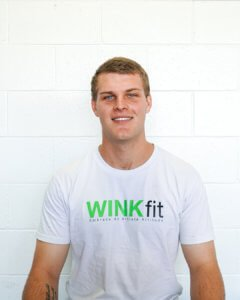 nick maudsly in winkfit shirt