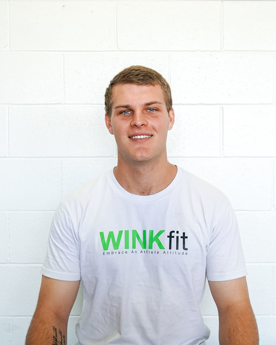 nick maudsly in winkfit shirt